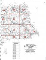 Map Image 024, Lee County 2001